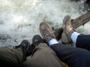 Gilbert Redman feet on honeymoon in 2006